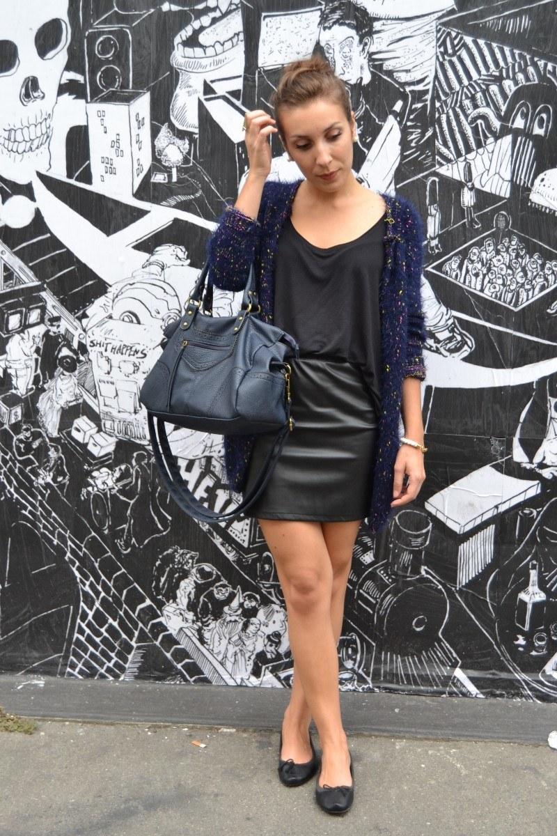 leather skirt choies A 2