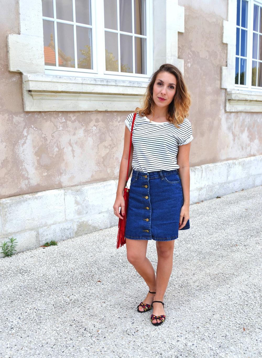 A-Line skirt Shein 2