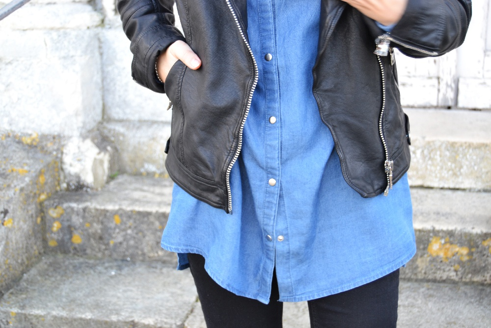 ootd Cache Cache look rock - Top Knot and Tea Cups 6