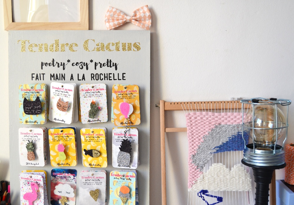 cr ateur la rochelle tendre cactus top knot and tea cups. Black Bedroom Furniture Sets. Home Design Ideas