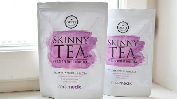 skinny tea ortte thé minceur detox