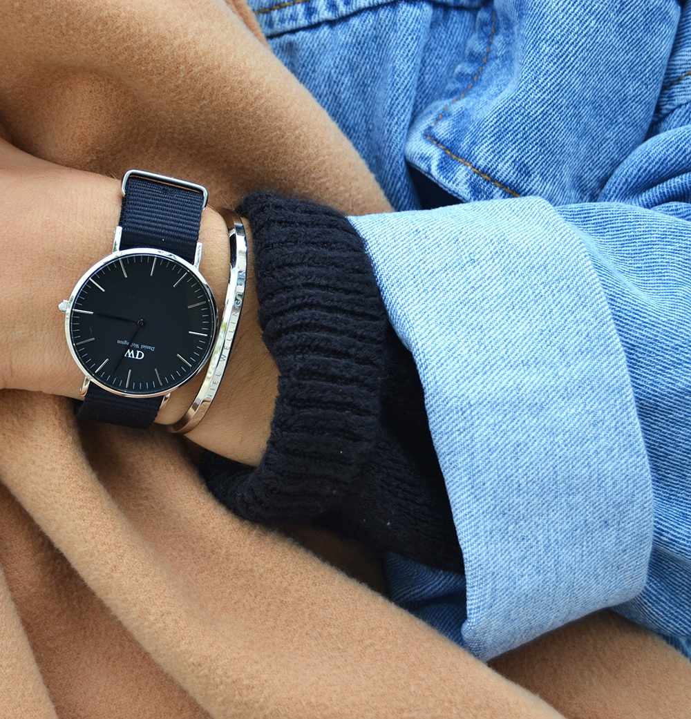 veste-denim-old-school-shein-montre-classic-black-daniel-wellington-2
