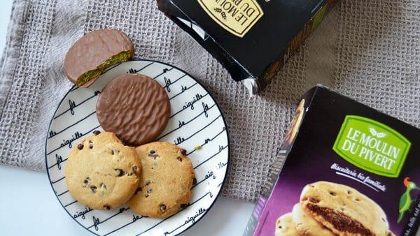 le moulin pie vert biscuits bio matcha chocolat