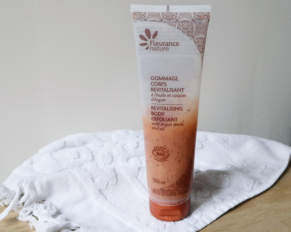 gommage corps argan fleurance nature