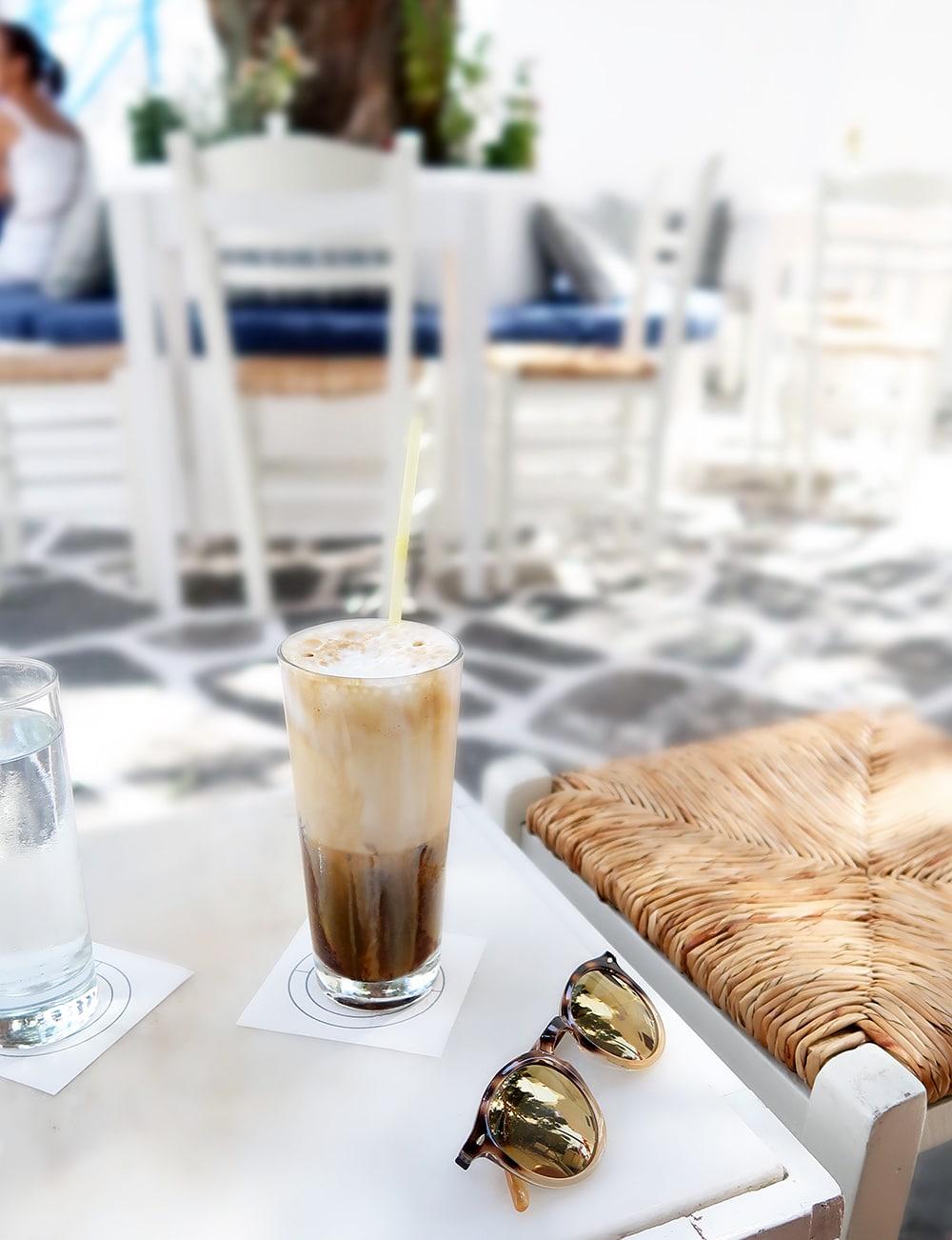 café frappé grece