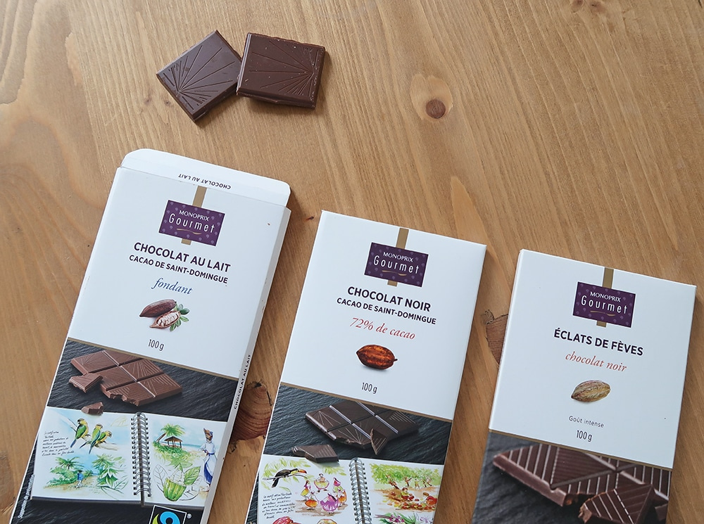 tablette chocolat monoprix