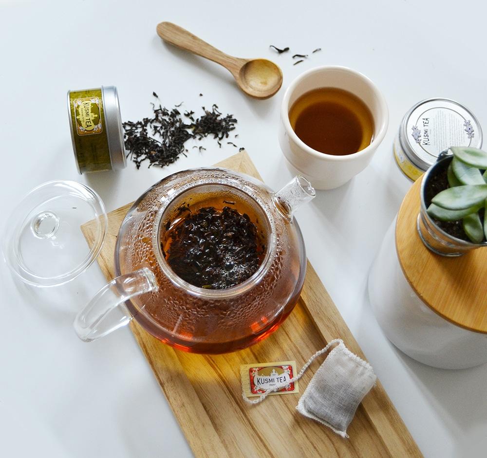 thé noir doux karavan50 kusmi tea