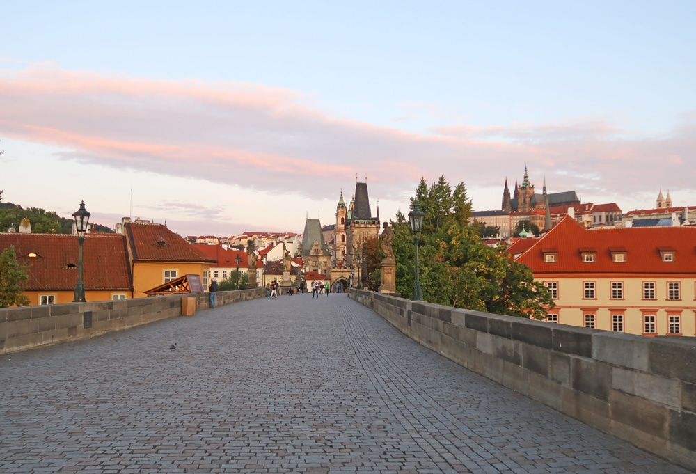 pont charles voyage Prague republique tcheque europe