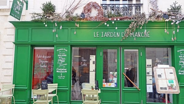 restaurant café le jardin du marché la rochelle
