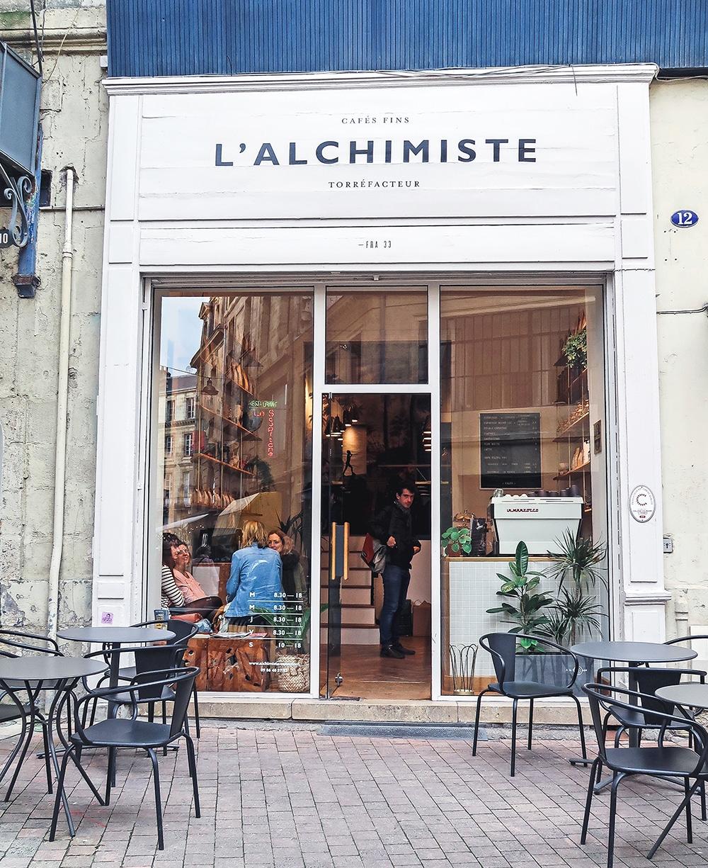 Shopping Tours Bordeaux office du tourisme Bordeaux l'alchimiste torrefacteur