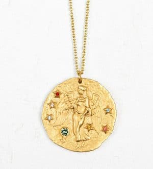 collier astro maje vierge