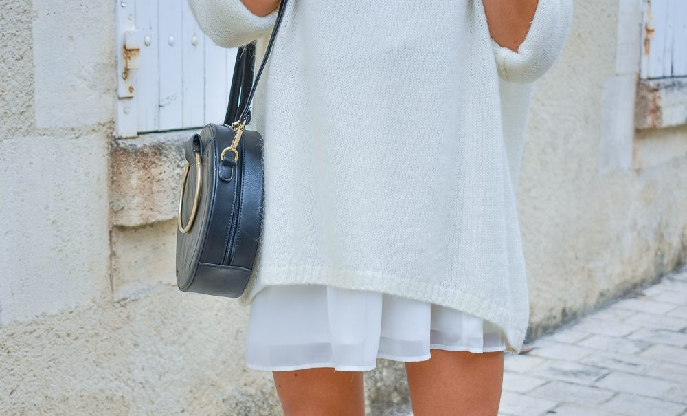 blog mode robe blanche boots rock