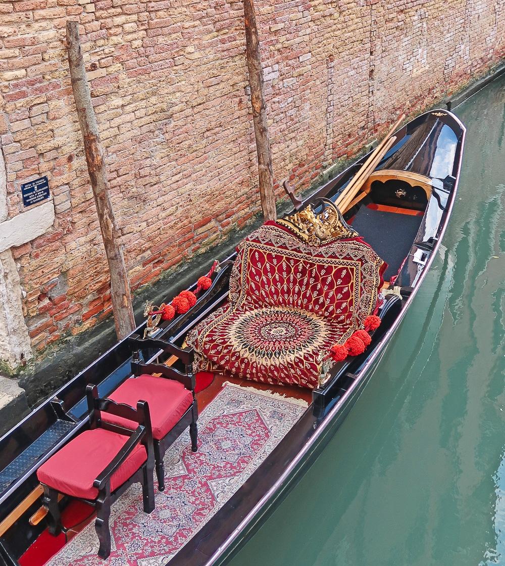 gondoles voyage venise italie court séjour europe