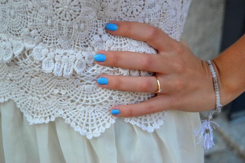 robe dentelle macramé blanc boheme