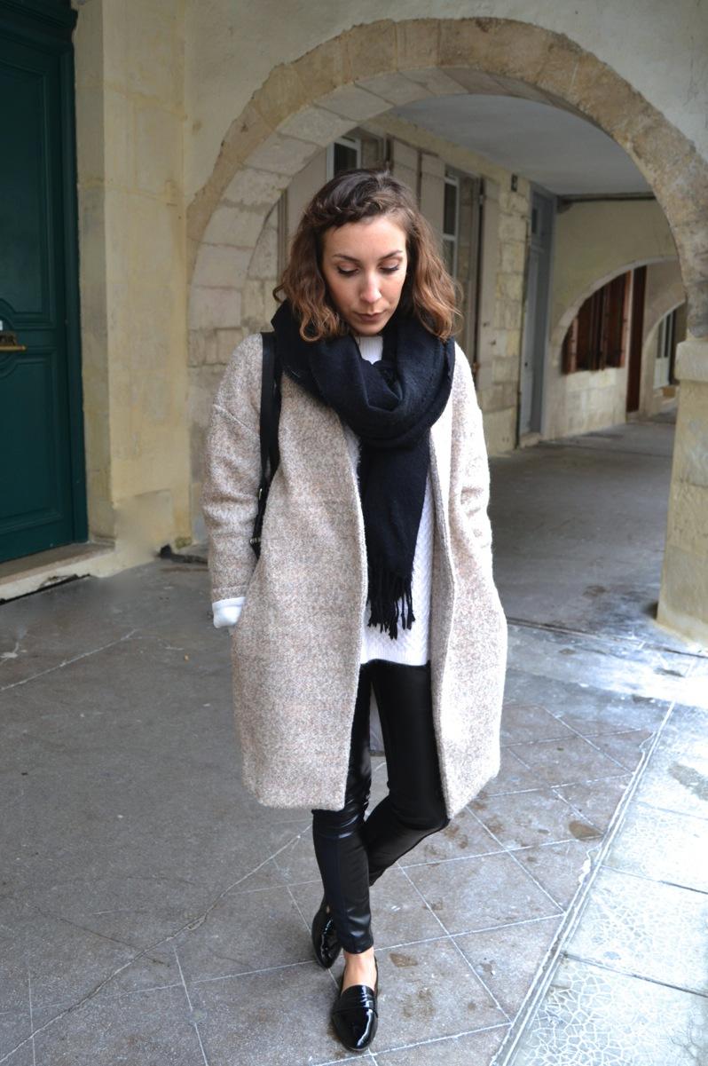 legging cuir C