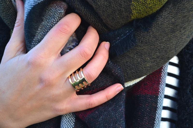 echarpe patchwork choies D