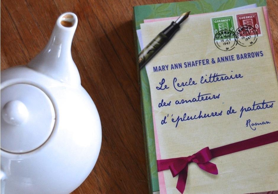 Mary ann Shaffer le cercle littéraire des amateurs d'épluchures de patates