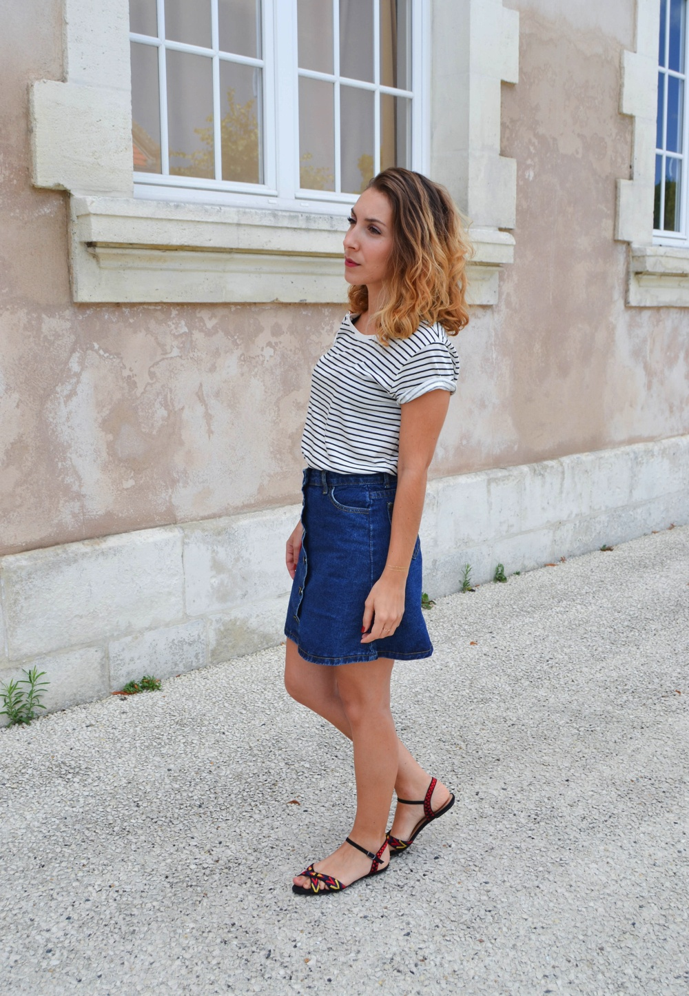 A-Line skirt Shein 8