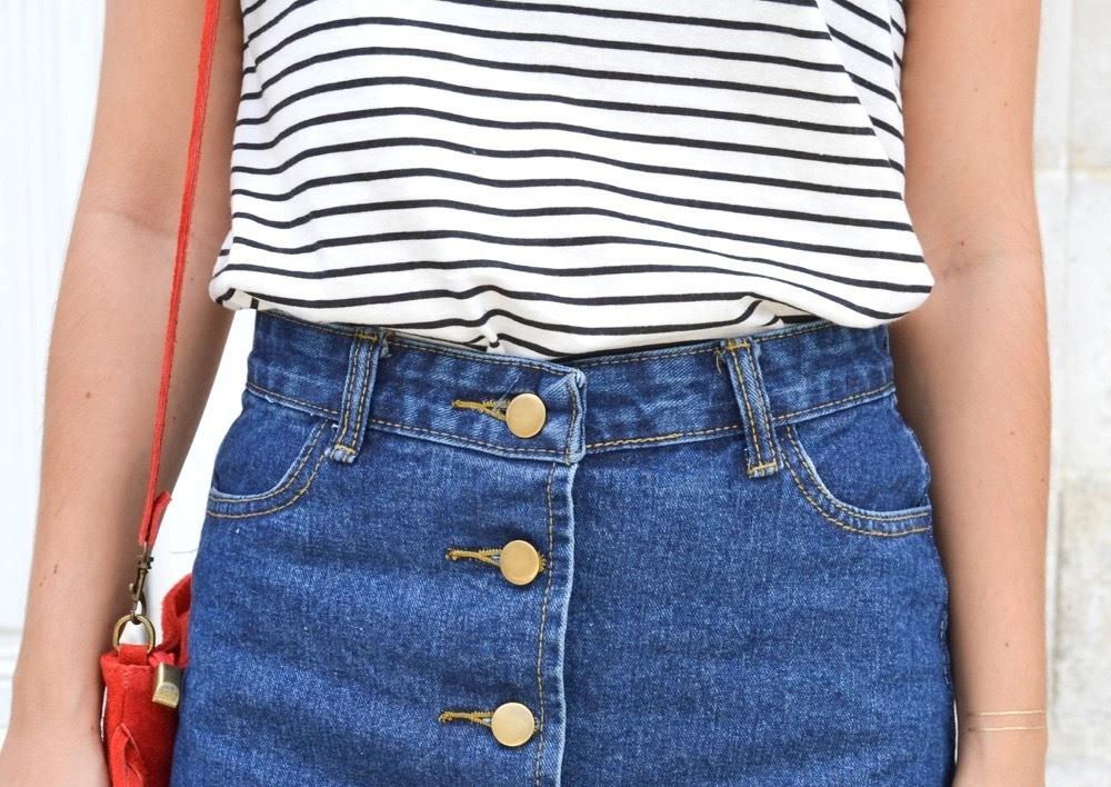 A-Line skirt shein 9