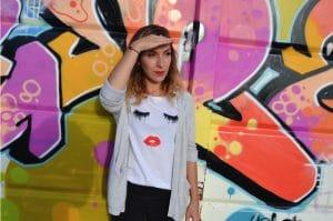 top lashes shein graffiti la rochelle