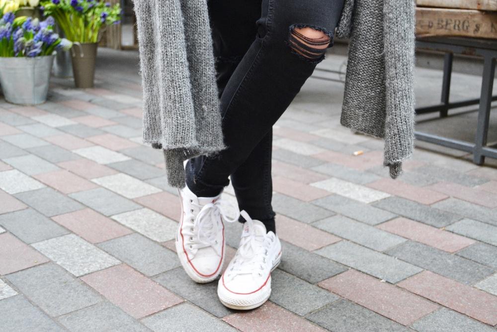 bonnet gris pull gris sheinside 3