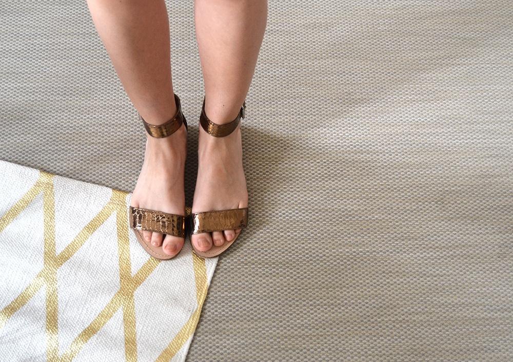 robe kaki suedine Shein 6