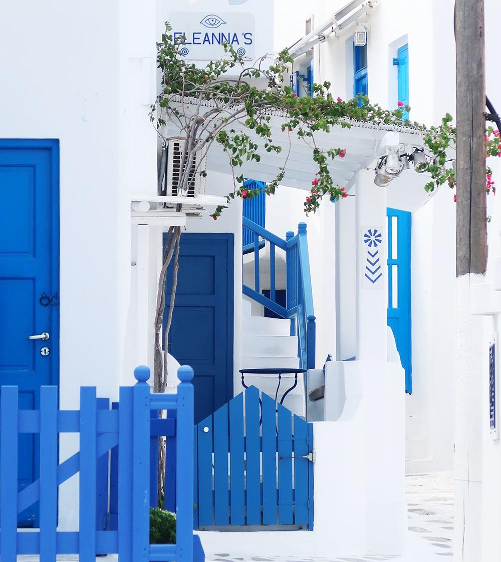 mykonos chora grece