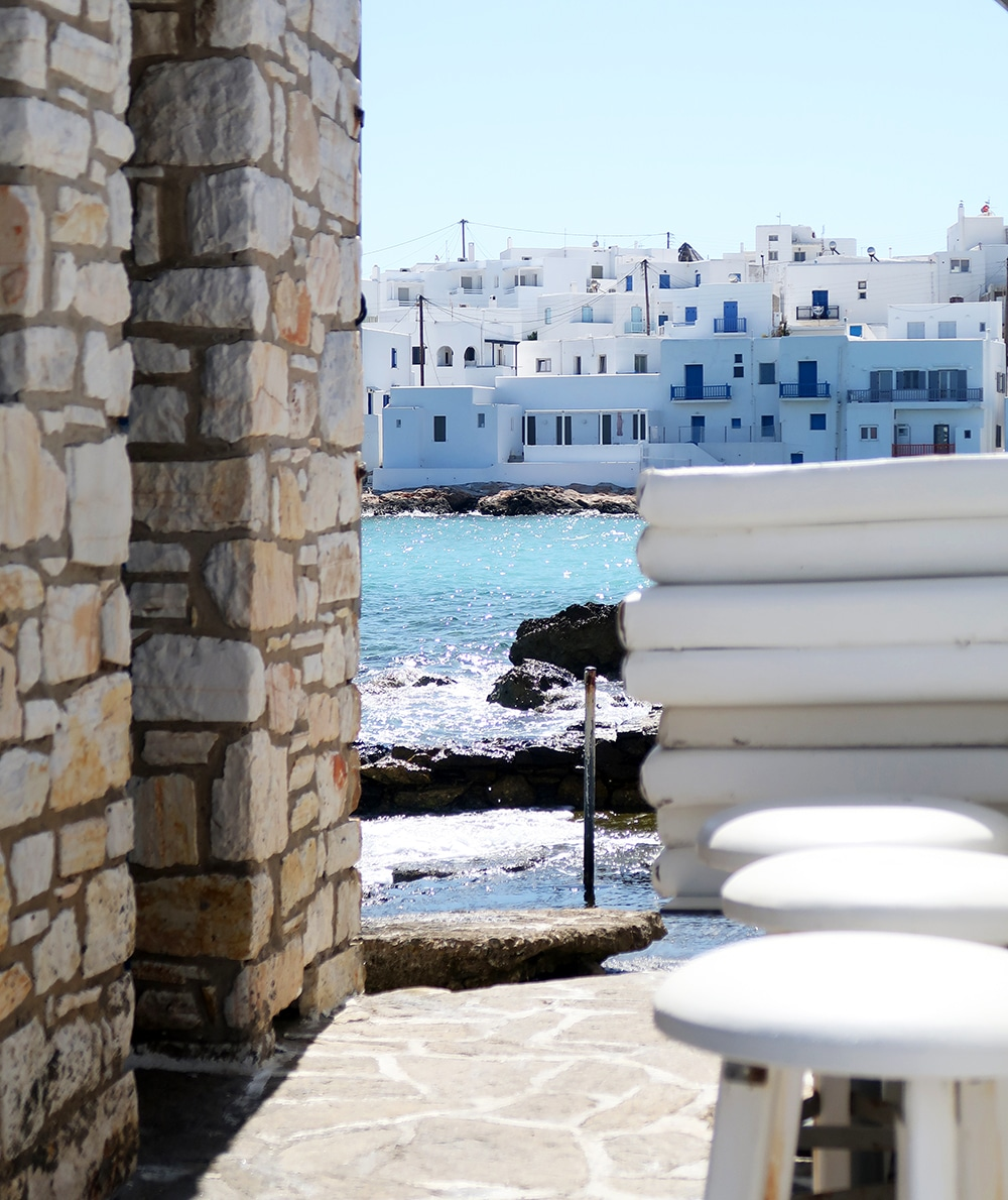 port naoussa grece Paros