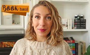 book haul automne video livres