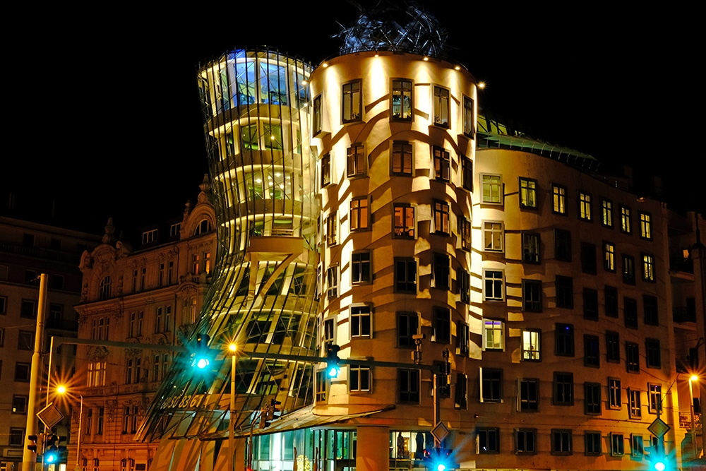 dancing house prague maison dansante