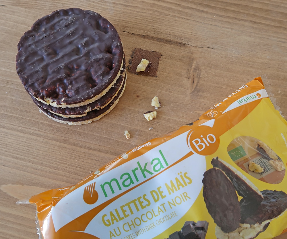 galette mais bio chocolat markal sans gluten