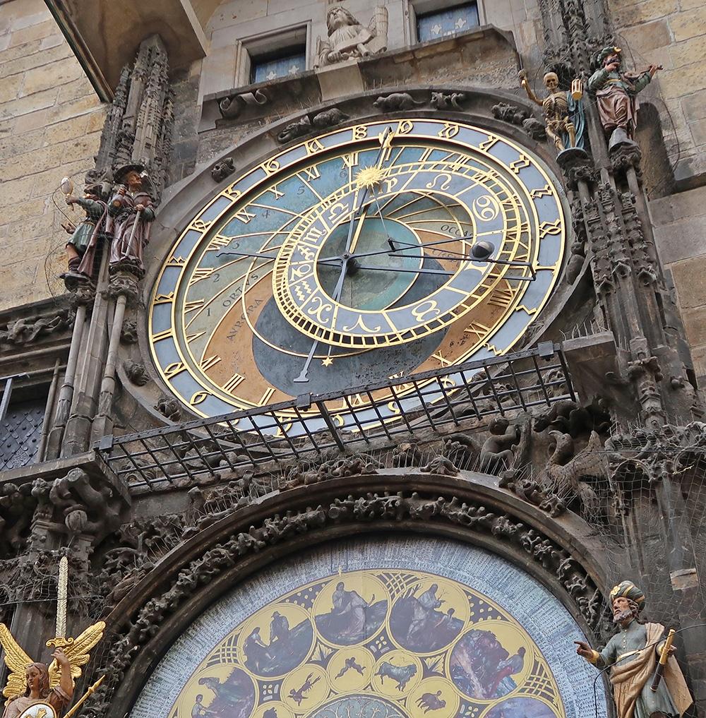 horloge astronomique voyage Prague République Tchèque Europe