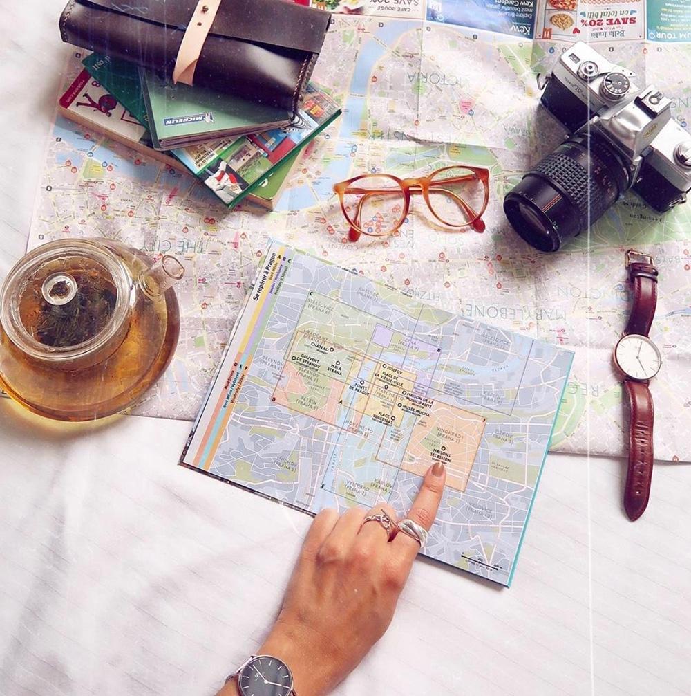 voyage preparatif trip