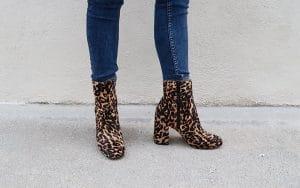 comment porter bottines leopard eram imprime leopard