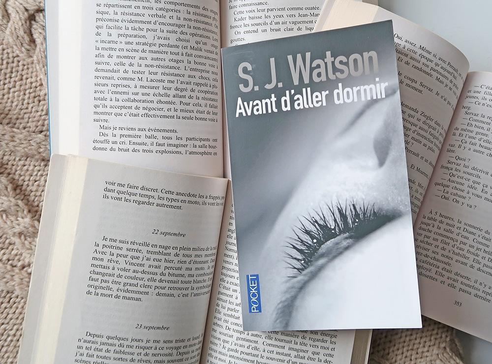 lecture roman policier SJ watson avant d'aller dormir polar thriller