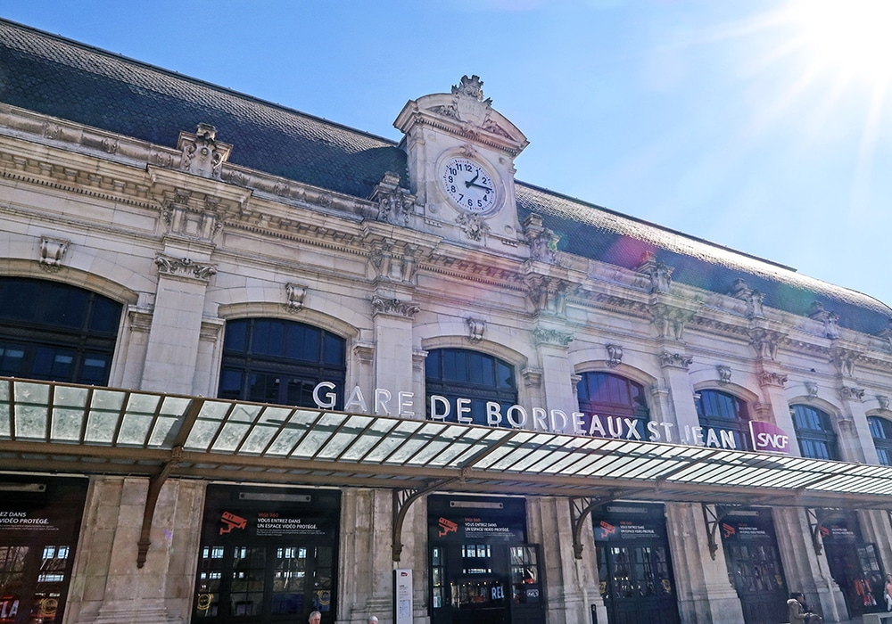 Gare Bordeaux Saint-Jean Shopping Tours Bordeaux