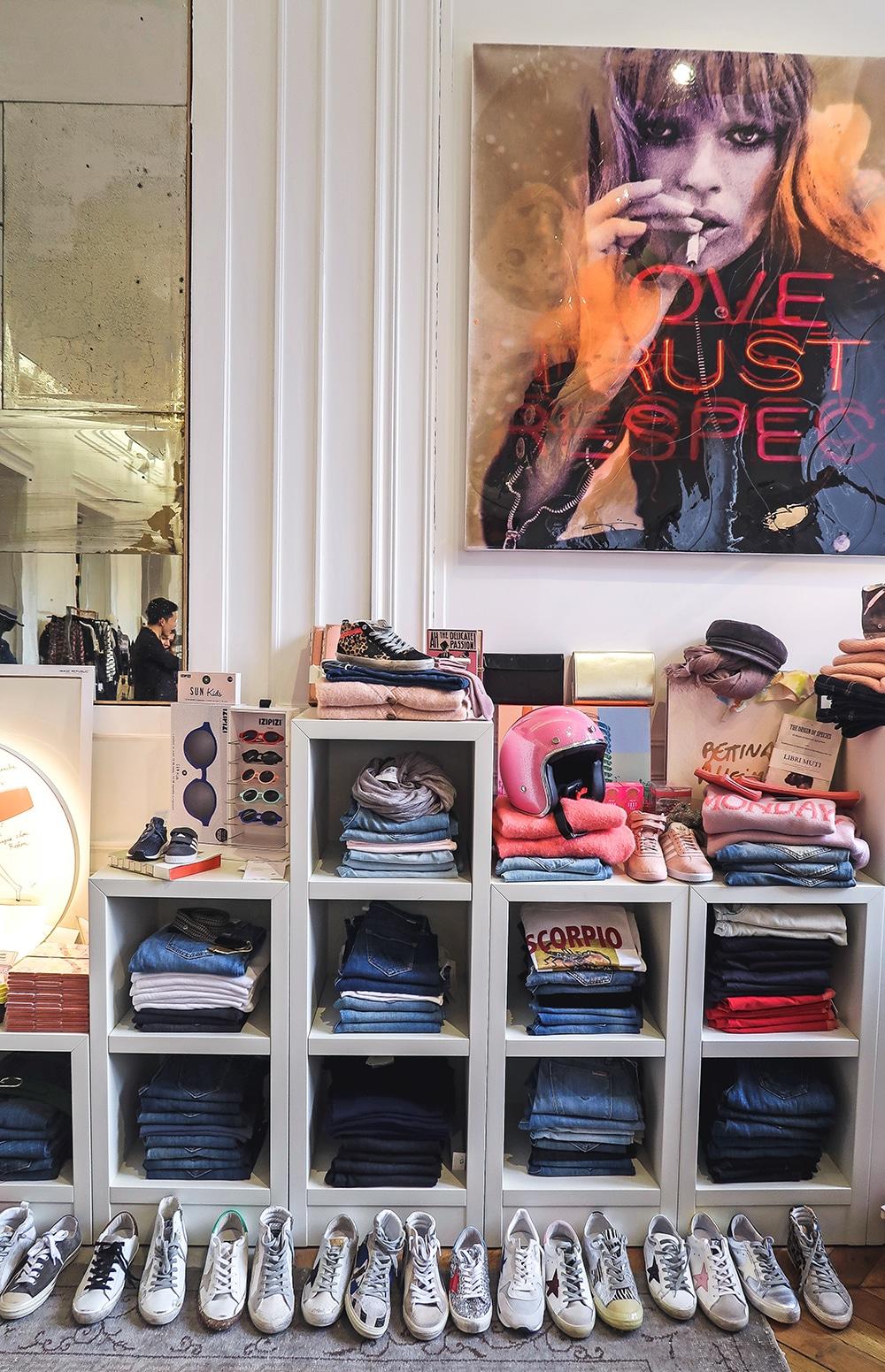 Shopping Tours Bordeaux createurs bordeaux Jane de Boy mode mixte golden goose
