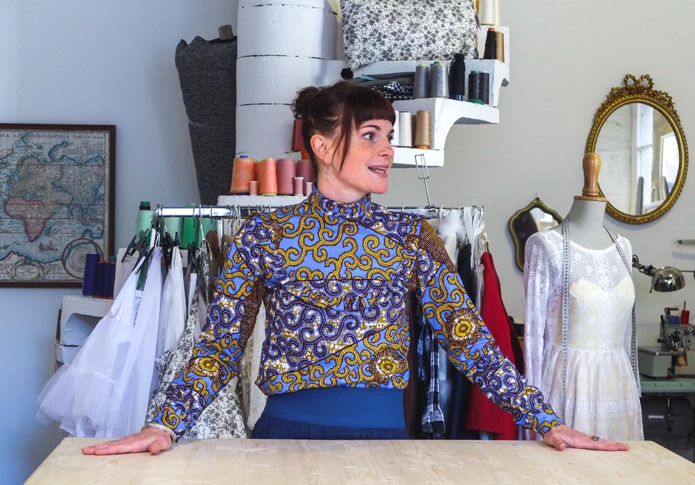 Shopping Tours Bordeaux createurs bordeaux Carré Mahaut vêtements sur mesure