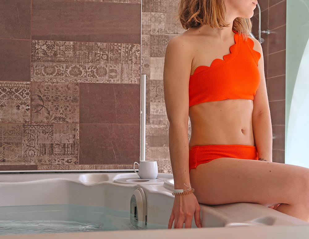 bikini orange feston spa bestwestern villa saint antoine clisson escapade weekend gourmand et spa smartbox