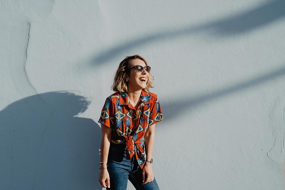 photographe la rochelle audrey rutz soeurs chiffons imprimé wax lunettes grace kelly