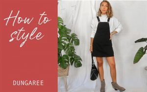 comment porter la salopette en jean, lookbook salopette
