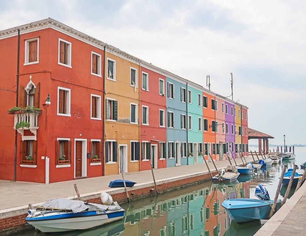 burano voyage venise italie court séjour europe