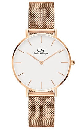 montre classic petite or daniel wellington