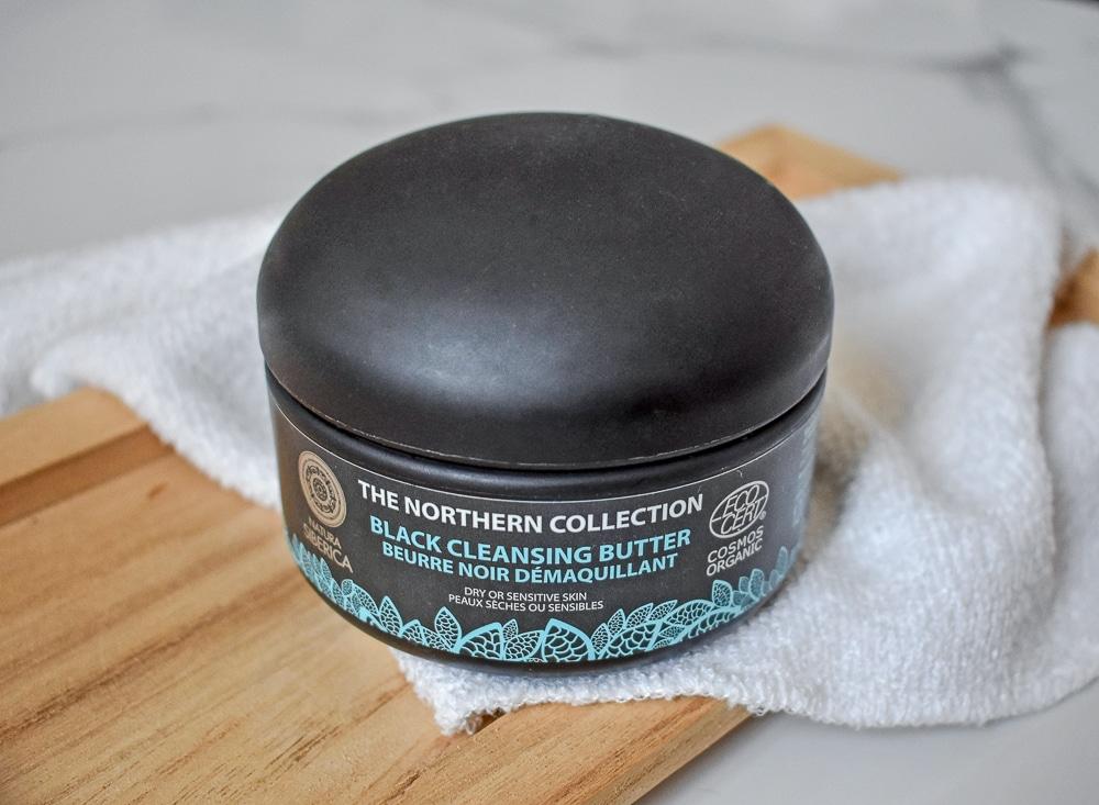 beurre démaquillant hydrosoluble noir natura siberica