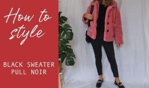 how to wear pull noir