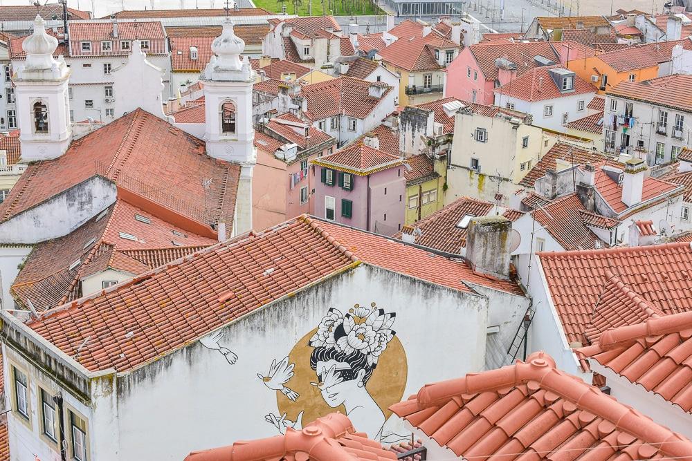 miradouros lisbonne city