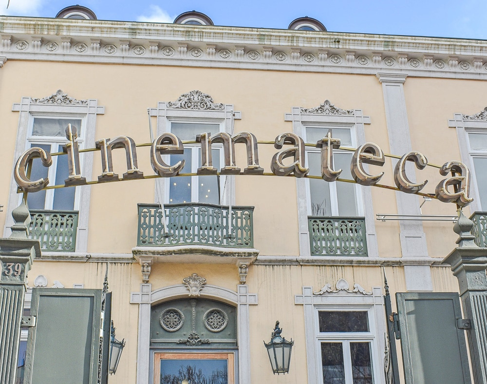 cinemateca lisbonne