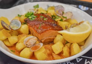 specialite lisbonne culinaire food cochon de lait