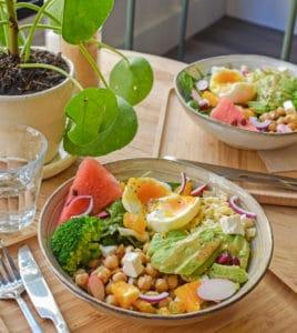 bonne adresse la rochelle coffee shop la rochelle chez albert salade composée