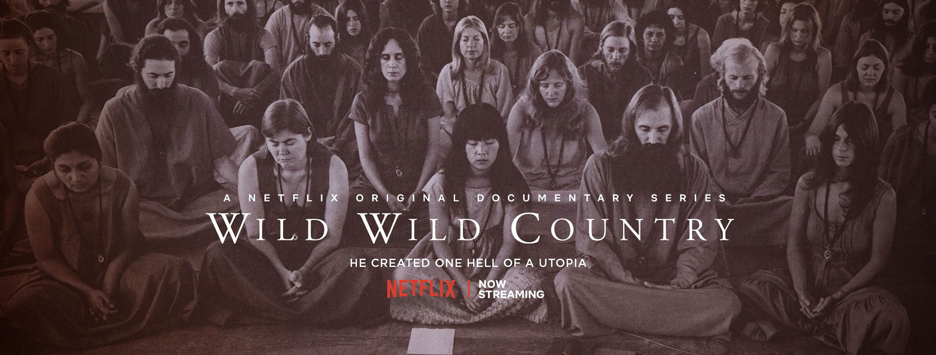 documentaire netflix secte rajneeshpuram oregon wild wild country